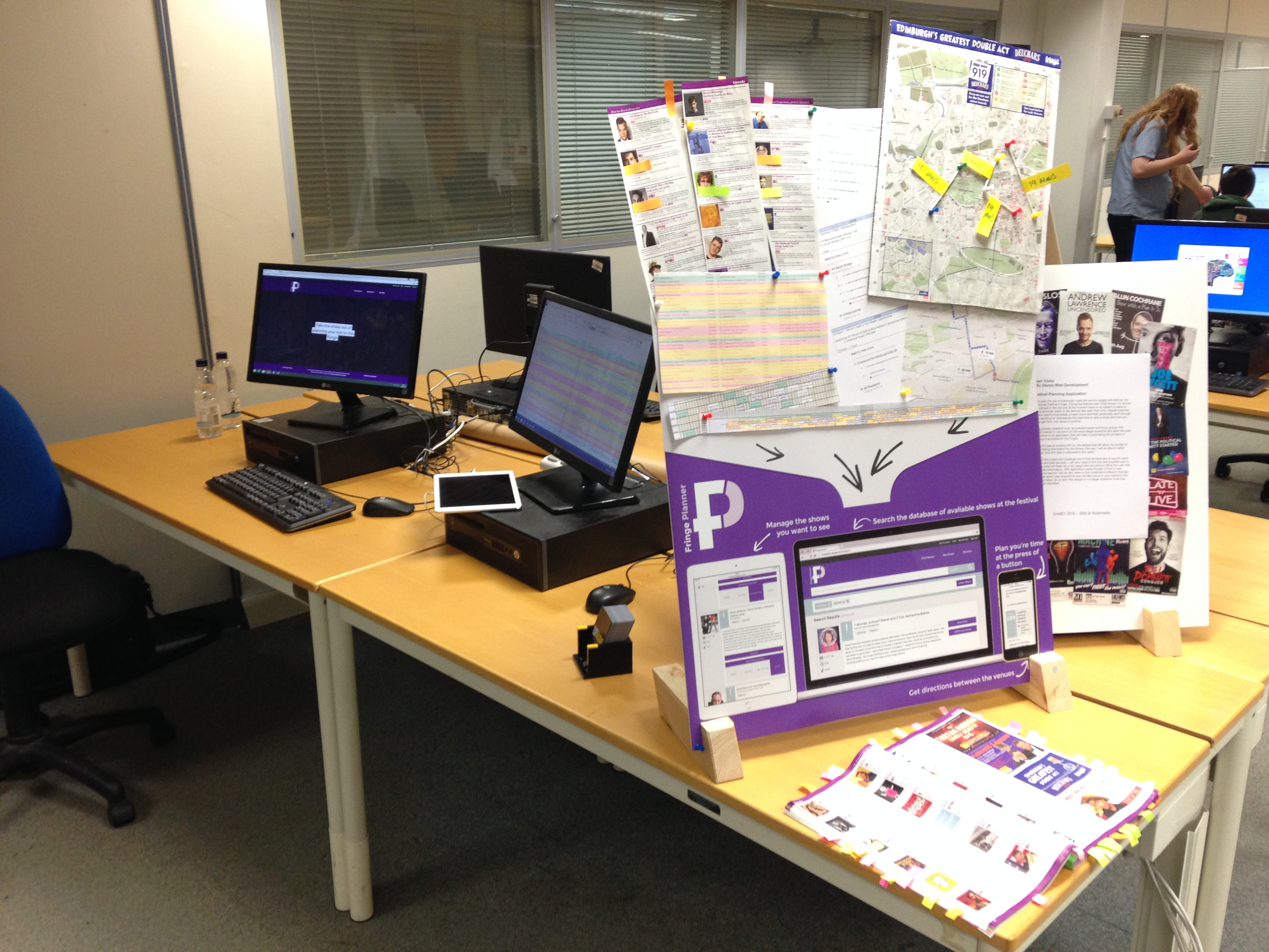 The Grad-Ex display of my FYP