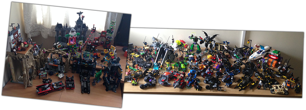Full DC Comics Lego Collection