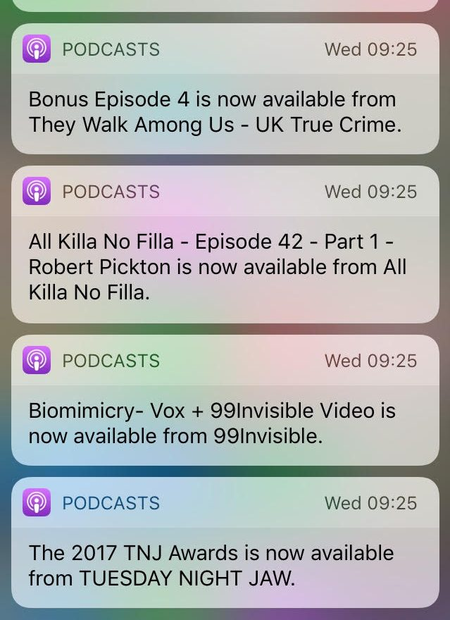 Podcast Updates