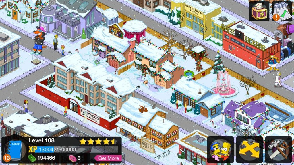 Screenshot of The Simpsons Tapped Out